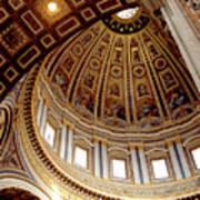 St Peters Looking Up Art Print