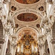 St. Stephen Cathedral Interior Art Print