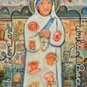 St. Teresa Of Kolkata Art Print