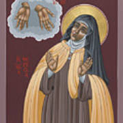 St Teresa Of Avila 177 Art Print