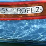 St. Tropez Art Print by Lainie Wrightson