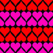 St. Valentine Love Art Print
