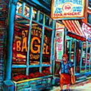 St. Viateur Bagel Bakery Art Print