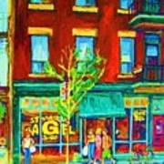 St Viateur Bagel Shop Art Print
