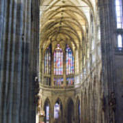 St Vitus Cathedral Art Print
