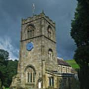 St Wilfrid Burnsall Art Print