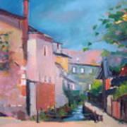 St Yrieux La Perche  Art Print