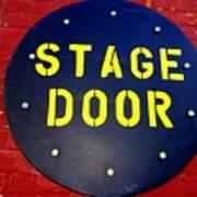 Stage Door Art Print