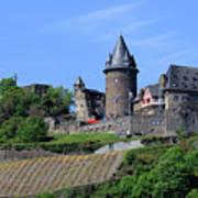 Stahleck Castle In The Rhine Gorge Germany Art Print