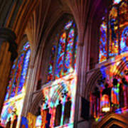 Stain Glass Cathedral Art Print