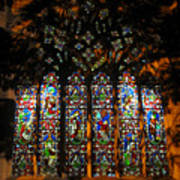 Stained Glass Window Christ Church Cathedral 1 Art Print