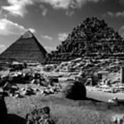 Stair Stepped Pyramids Art Print