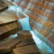 Staircase Fountain Art Print