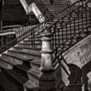 Stairs In The Markethall  Art Print