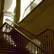 Stairs To 2nd Floor Art Print