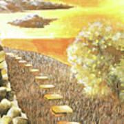 Stairs Towards The Horizon Art Print