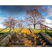 Stairway To Federal Hill Art Print