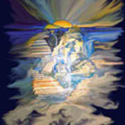 Stairway To Heaven Digital Art Print