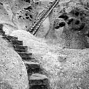 Stairways To The Kiva Art Print
