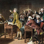 Stamp Act: Patrick Henry Art Print