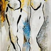 Stand Up Art Print by Gerusa Bernardes