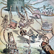 Standard Oil Cartoon Art Print