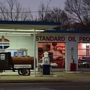 Standard Oil Museum After Dark 18 Art Print