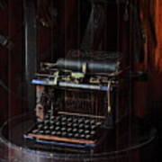 Standard Typewriter Print by Viktor Savchenko