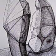 Standing Forms Art Print