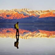 Standing On Water Art Print