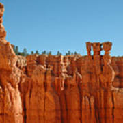 Standing Tall In Bryce Canyon Art Print