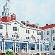 Stanley Hotel Two Art Print