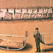 Stanleys Portable Boat Art Print