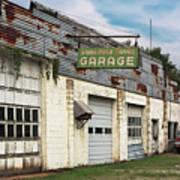 Stans Motor Service Garage Art Print