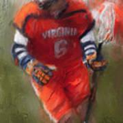 Stanwick Lacrosse 3 Art Print