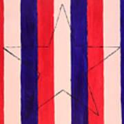 Star And Stripes Art Print