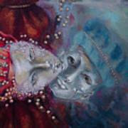 Star-crossed Lovers Art Print