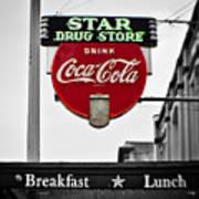 Star Drug Store Art Print