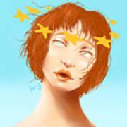 Star Eyed Art Print