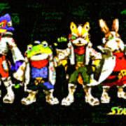 Star Fox Zero Art Print