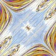Star Galaxy Central Art Print