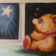 Star Light Bear Art Print