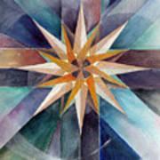 Star Mandala 2  Art Print