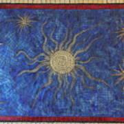 Star Meander Art Print