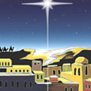 Star Of Bethlehem Art Print