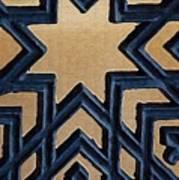 Star On Iron Gate Art Print