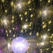 Star Particles Art Print