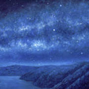 Star Path Art Print