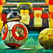 Star Wars Brothers - Pa Art Print