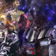 Star Wars Compilation Art Print
